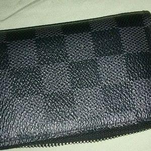 Unisex Louis Vuitton Card Holder